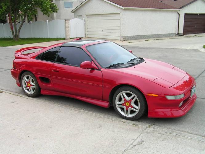 1991 toyota mr2 turbo coupe for sale in winnipeg manitoba all cars in. Black Bedroom Furniture Sets. Home Design Ideas