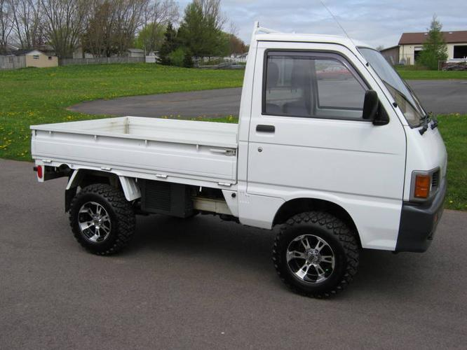 1992 diahatsu 4x4 mini truck for sale in charlottetown prince edward island all cars in. Black Bedroom Furniture Sets. Home Design Ideas