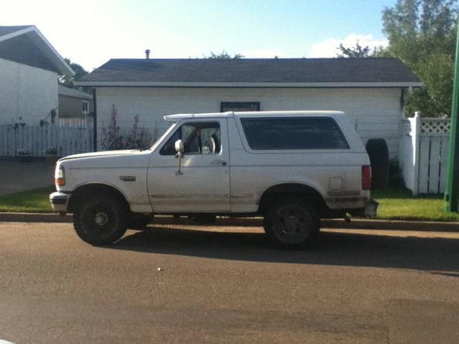 1992 Ford Bronco Coupe