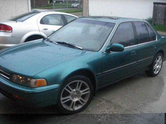 1992 honda accord sedan for sale in winnipeg manitoba all cars in. Black Bedroom Furniture Sets. Home Design Ideas