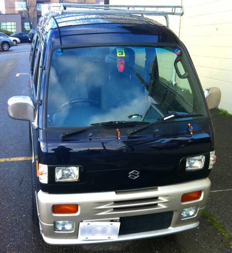 1992 Suzuki Every Import, Right Hand Manual Drive For Sale