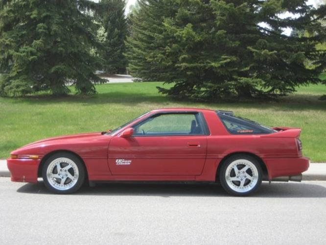 1992 toyota supra gt coupe for sale in calgary alberta all cars in. Black Bedroom Furniture Sets. Home Design Ideas