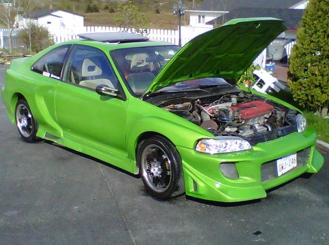1993 Honda Civic Ls Vtec Widebody Coupe For Sale In Barrie