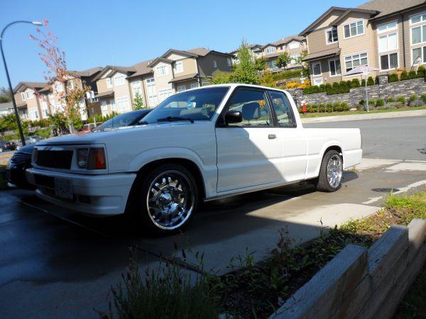1993 Mazda B2200 with 5 0L V8 engine swap - $5500 for sale