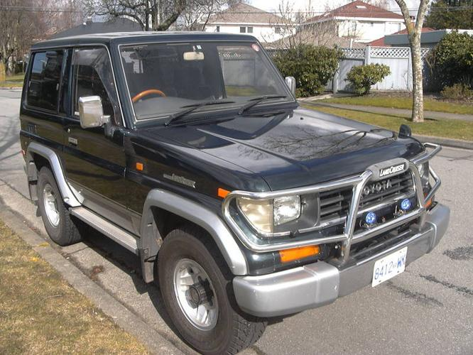 1993 toyota land cruiser prado turbo diesel suv 4x4 for sale in vancouver british columbia. Black Bedroom Furniture Sets. Home Design Ideas