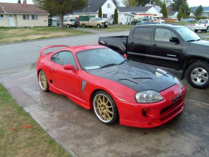 1993 toyota supra coupe for sale in kitimat british. Black Bedroom Furniture Sets. Home Design Ideas