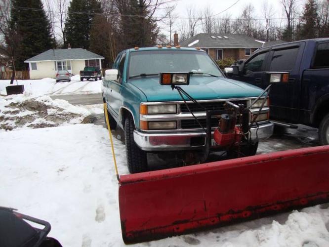 1994 Chevrolet Silverado 2500 6.5L Turbo Diesel