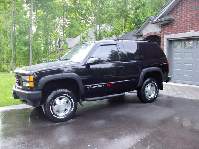 1994 Gmc Yukon Gt Package For Sale In Minesing Ontario All Cars