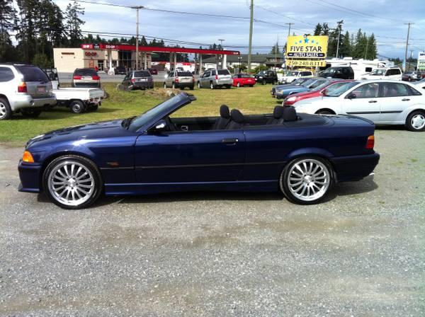 1995 BMW 325I Convertible, Only 125,265 Kms - $8950