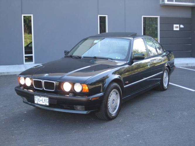 1995 bmw 5 series 540i sedan for sale in pitt meadows british columbia all cars in. Black Bedroom Furniture Sets. Home Design Ideas
