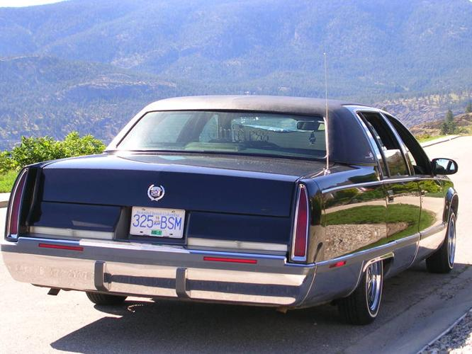 1995 cadillac fleetwood brougham sedan for sale in kelowna british. Cars Review. Best American Auto & Cars Review