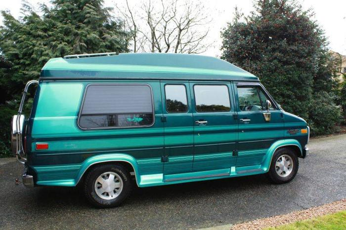 1995 Chevrolet G20 Conversion Van for sale in Coquitlam