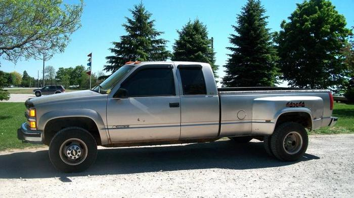 1995 Chevrolet Silverado 3500 4x4 Dually Turbo Diesel For