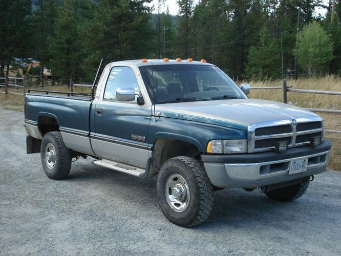 1995 dodge ram 2500 diesel 4x4 pickup truck for sale in. Black Bedroom Furniture Sets. Home Design Ideas