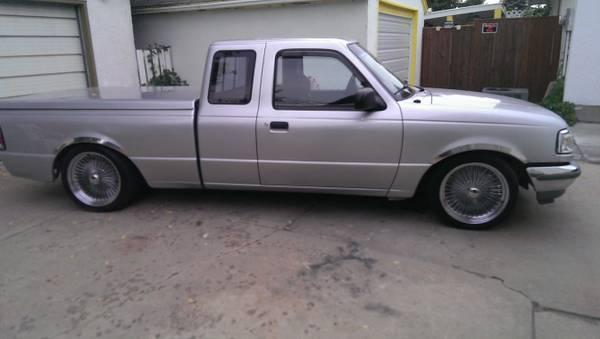 1995 ford ranger lowrider - $6500