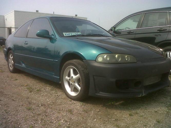 1995 honda civic coupe si