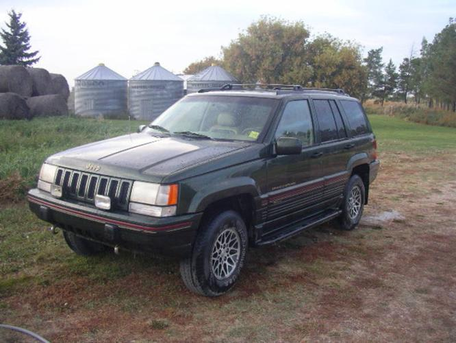 1995 jeep grand cherokee limited suv in saskatoon saskatchewan. Cars Review. Best American Auto & Cars Review
