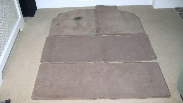 1995 Mercury Villager OEM Mocha Colored Floor Mats-Complete Set - $25
