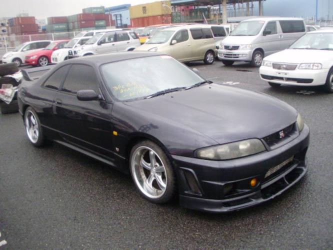 1995 Nissan Skyline GTR R33   Rare Dark Grey Pearl   Modified