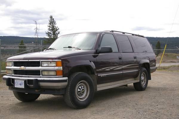 1995 Suburban Diesel 4X4 - $3200