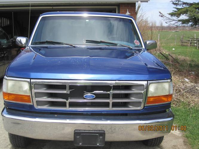1996 ford f 150 xl pickup truck for sale in owen sound ontario all cars in. Black Bedroom Furniture Sets. Home Design Ideas
