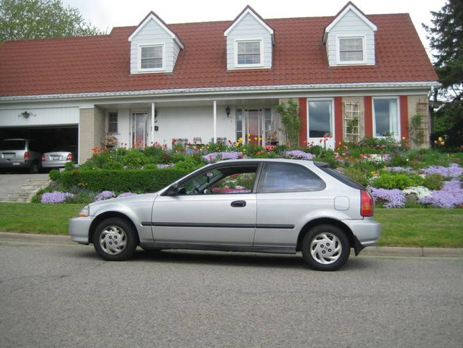 1996 honda civic cx hatchback for sale in markham ontario. Black Bedroom Furniture Sets. Home Design Ideas