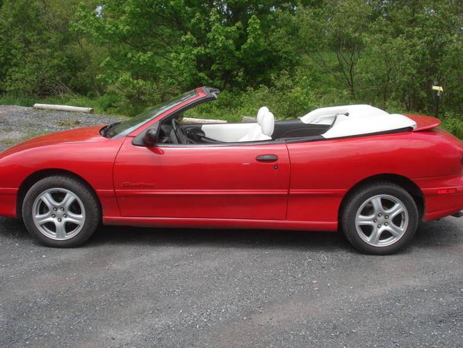 1996 Pontiac Sunfire Convertible For Sale In Westville