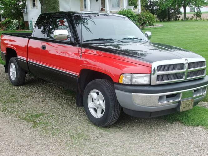 1997 dodge power ram 1500 laramie slt pickup truck for. Black Bedroom Furniture Sets. Home Design Ideas