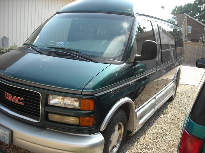 1997 GMC Savana Conversion Van Travel