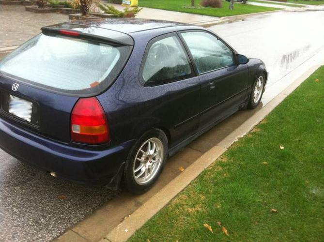 1997 honda civic dx hatchback for sale in hamilton ontario all cars in. Black Bedroom Furniture Sets. Home Design Ideas