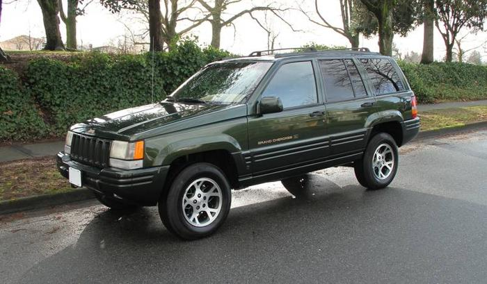 97 jeep grand cherokee orvis edition