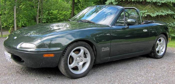 1997 Mazda MX-5 Miata Speedster Convertible