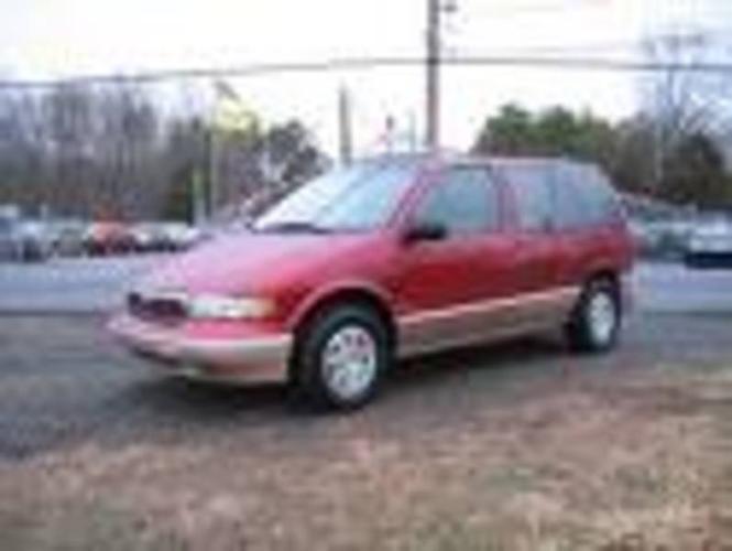 1997 Mercury Villager Minivan