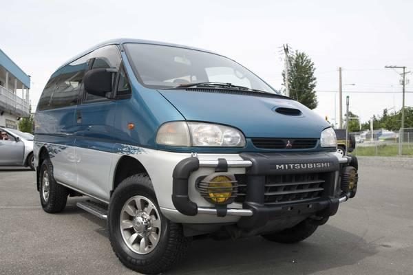 1997 Mitsubishi Delica -- Jasper - $7850