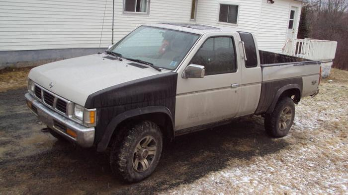 1997 nissan frontier pickup truck ext cab 4cyl 4x4 5 speed600obo for sale in windsor nova. Black Bedroom Furniture Sets. Home Design Ideas