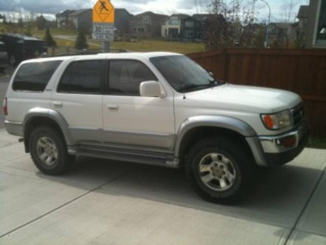 1997 toyota 4runner suv limited for sale in calgary. Black Bedroom Furniture Sets. Home Design Ideas