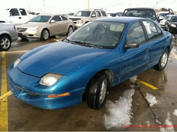 1998 Baby Blue Pontiac Sunfire 800 For Sale In Langley