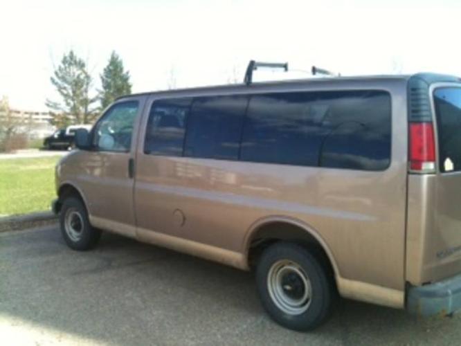 1998 Chevrolet Express Minivan For Sale In Saskatoon