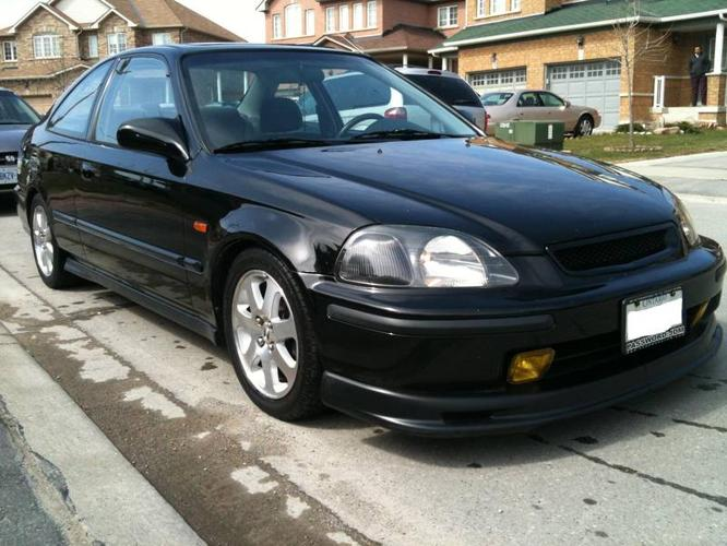 1998 honda civic jdm ek full sir coupe for sale in. Black Bedroom Furniture Sets. Home Design Ideas