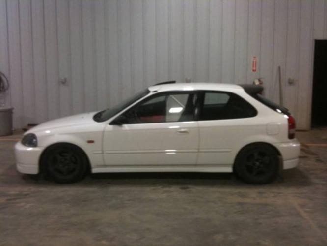 1998 honda civic type r replica hatchback for sale in fort mcmurray alberta all cars in. Black Bedroom Furniture Sets. Home Design Ideas