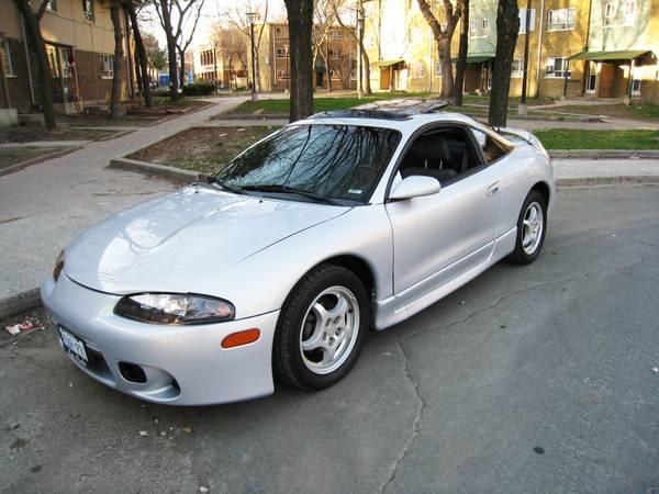 1998 Mitsubishi Eclipse GS Coupe - $2500