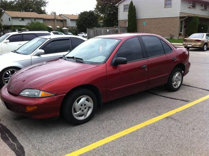 1999 chevrolet cavalier sedan for sale in london ontario. Black Bedroom Furniture Sets. Home Design Ideas