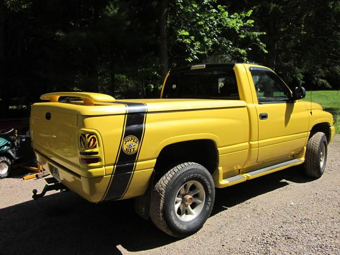 1999 dodge power ram 1500 sport pickup truck for sale in huntsville ontario all cars in. Black Bedroom Furniture Sets. Home Design Ideas