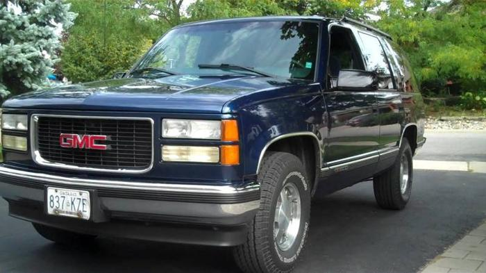1999 gmc yukon sle suv for sale in kitchener ontario all cars in. Black Bedroom Furniture Sets. Home Design Ideas