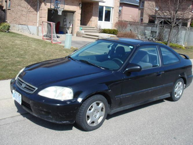 1999 honda civic coupe si for sale in hamilton ontario. Black Bedroom Furniture Sets. Home Design Ideas