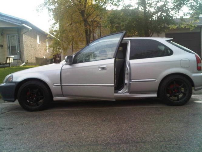 1999 honda civic dx type s hatchback sooldd for for 1999 honda accord oil type
