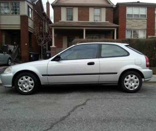 1999 honda civic hatchback 1800 for sale in toronto ontario all cars in. Black Bedroom Furniture Sets. Home Design Ideas