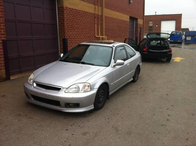 1999 honda civic si coupe for sale in mississauga ontario all cars in. Black Bedroom Furniture Sets. Home Design Ideas