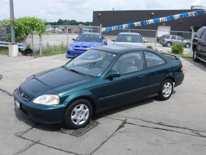 1999 honda civic si coupe automatic w moonroof for sale in kitchener ontario all cars in. Black Bedroom Furniture Sets. Home Design Ideas