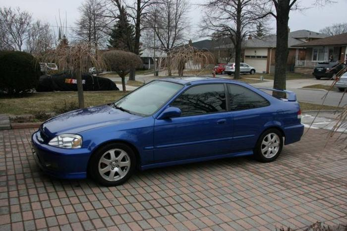 1999 honda civic sir coupe for sale in north york ontario. Black Bedroom Furniture Sets. Home Design Ideas